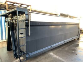 overige containers Hyva Container met afdekkappen geïsoleerd kabel haak