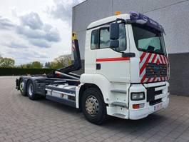 containersysteem vrachtwagen MAN TGA 26.360 6X2 CONTAINER SYSTEEM- CONTAINER SISTEEM- CONTAINER HAAKSYSTEEM- SYSTEME CONTENEUR 2008