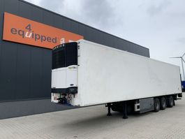 koel-vries oplegger Pacton Carrier Vector 1800 D/E (silent), steering axle, taillift, good tires, NL-trailer, new APK 2006