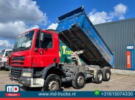 kipper vrachtwagen > 7.5 t DAF CF 85 manual 8x4 full steel springs 2004