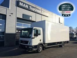 bakwagen vrachtwagen MAN TGL 12.250 4X2 BL Koffer 7,1m, LBW, Klima 2018