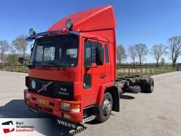 chassis cabine vrachtwagen Volvo FL615 1996