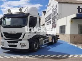 bakwagen vrachtwagen Iveco STRALIS AS480.26 2015