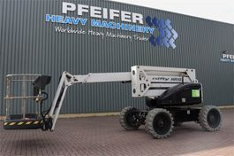 knikarmhoogwerker wiel Niftylift HR15D 4x4 Diesel, 4x4 Drive, 15.7m Working Height, 2014