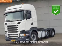 standaard trekker Scania R450 6X2 NL-Truck Lift+Lenkachse 2x Tanks Euro 6 2015