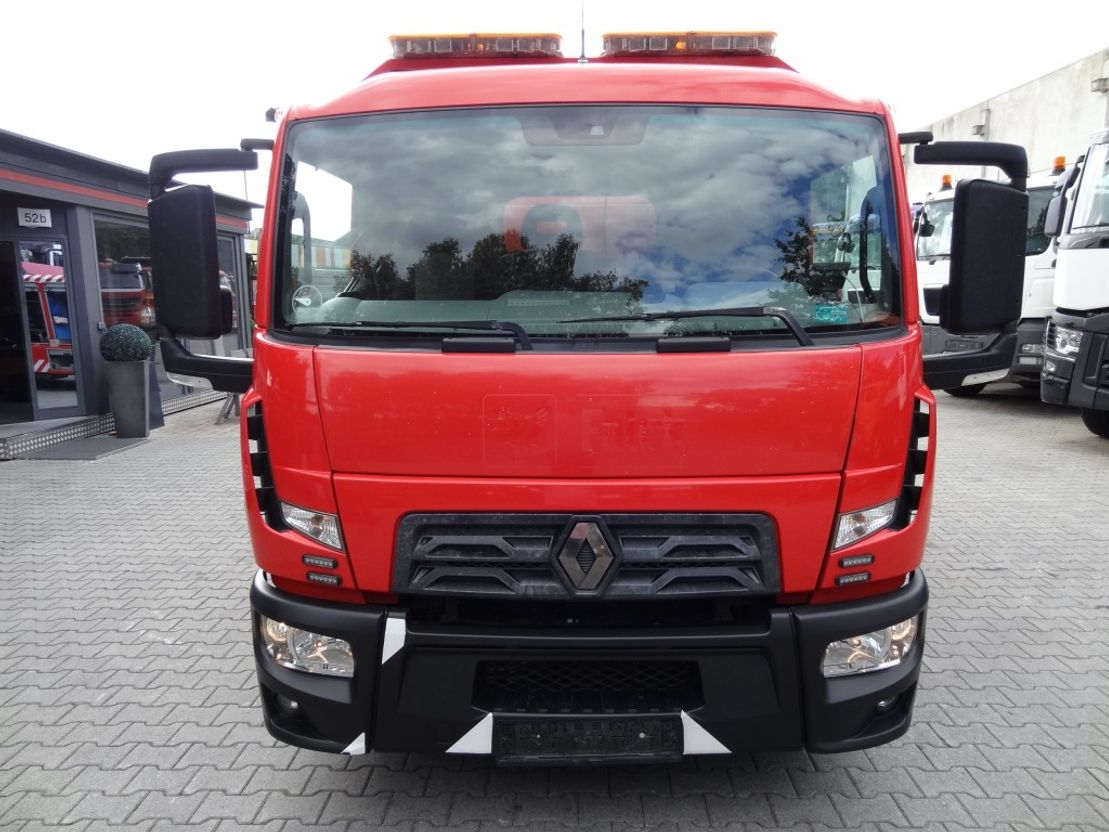 takelwagen-bergingswagen-vrachtwagen Renault D180.75 OMARS 2016