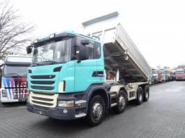 kipper vrachtwagen > 7.5 t Scania G 440 8X4 2010