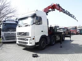 zware last trekker Volvo FH13 480 8X4 KRAN FASSI 60 T/M 2007