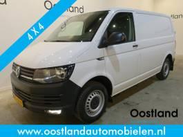 gesloten bestelwagen Volkswagen Transporter 2.0 TDI L1H1 4Motion 4x4 150 PK Automaat / Airco / Cruise Control / 3-Zi... 2017