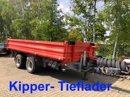 kipper bedrijfswagen Möslein TTD 19 Schwebheim 19 t Tandemkipper- Tieflader 2015