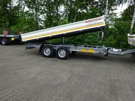 kipper bedrijfswagen Möslein TTD11 weiß Tandem Kipper Tieflader-- Neufahrzeug -- 2021