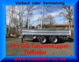 kipper bedrijfswagen Möslein TTD 19 19 t Tandem- 3 Seiten- Kipper Tieflader-- Neufahrzeug -- 2021