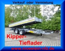 kipper bedrijfswagen Möslein TTD 13 Verzinkt 13 t Tandem 3- Seitenkipper Tieflader-- Neufahrzeug -- 2021