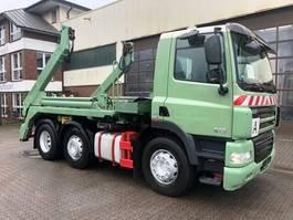 containersysteem vrachtwagen DAF 85 6x2 Meiller AK 16 MT/Euro5 2011