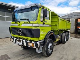 kipper vrachtwagen > 7.5 t Mercedes-Benz 2628 (25) AK 6x6 tipper 1987