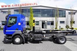 containersysteem vrachtwagen Renault D12-210 , E6 , 60.000km , NEW HOOK HYVA 7-40-S , retarder , AC , 2017