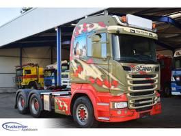 standaard trekker Scania R580-V8 6x4, Euro 6, Retarder, Hydraulic, Truckcenter Apeldoorn 2017