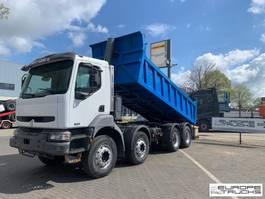 kipper vrachtwagen > 7.5 t Renault Kerax 370 Full steel - Manual - Big axles - 244378 km 2003