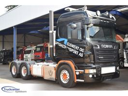 standaard trekker Scania R620-V8 6x4, Retarder, Highline, Truckcenter Apeldoorn 2012