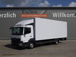 bakwagen vrachtwagen Mercedes-Benz Atego 818 4x2 Koffer, Automatik, Euro 6 2019
