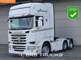 standaard trekker Scania R450 6X2 Retarder Liftachse Navi Euro 6 2014