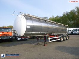 tankoplegger LAG Food / chemical tank inox 34.6 m3 / 2 comp + pump 2010
