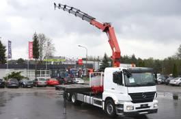 kraanwagen Mercedes-Benz AXOR 3533 6x2 HMF 3000 Crane Kran 2010