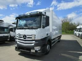 bakwagen vrachtwagen Mercedes-Benz Antos 1833 L Koffer 7,30 m LBW 1,5 T*1. Liege 2017