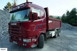kipper vrachtwagen > 7.5 t Scania R164 6x2 tipper truck 2004