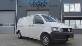 gesloten bestelwagen Volkswagen Transporter LANG AIRCO 2017