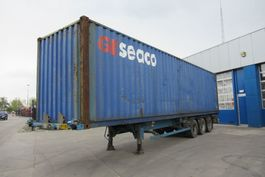 container chassis oplegger ASCA Container Chassis + 40FT highcube / ROR + DRUM 2004