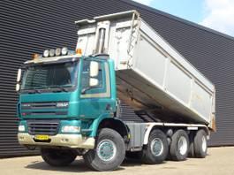 kipper vrachtwagen > 7.5 t DAF Ginaf X4345 / 8X6 / TIPPER / MANUAL GEARBOX / NL TRUCK! 2002