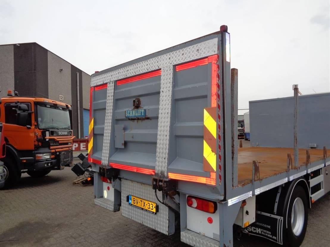 platform vrachtwagen DAF LF 55 250 + Euro 5 + Manual + Lift + 16 ton 2009