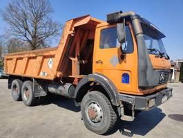 kipper vrachtwagen > 7.5 t Mercedes-Benz 2628 AK 6X6 TROPICAL 13Tons 1987