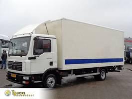 bakwagen vrachtwagen MAN TGL 8 + Manual + Palfinger Lift 2007