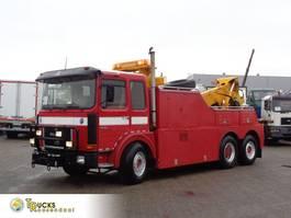 autotransporter vrachtwagen MAN 26.321 Manual + Pto + Wilhag carlift + Depannage 1983