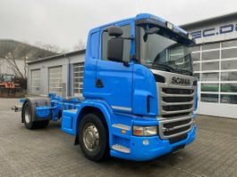 tankwagen vrachtwagen Scania G360 4x2 Fahrgestell für Tankwagen ADR FL & AT 2011