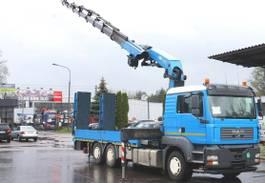 kraanwagen MAN ALLRAD Spezialtransporter Seilwinde Montagekran 2006