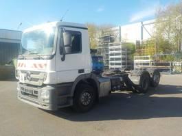 chassis cabine vrachtwagen Mercedes-Benz Actros 2532 L 6x2 BlueTec5 2532,2541.2544 2011