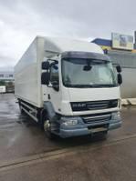 bakwagen vrachtwagen DAF LF 55 EEV Koffer LANG 8.3 m Schalter 2012