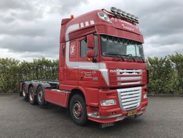 containersysteem vrachtwagen DAF FA K XF105.510 Euro5 Special-Interior 2012