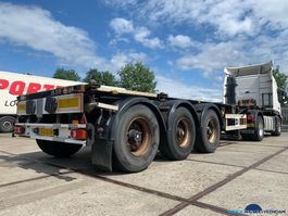 container chassis oplegger Van Hool Tankcontainer 20/30 ft ADR 1999
