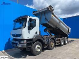 kipper vrachtwagen > 7.5 t Renault Kerax 410 8x4, Retarder, Manual, Steel suspension 2007