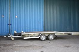 platte aanhangwagen Autotransporter 2700kg 2010