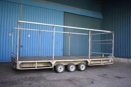 platte aanhangwagen Plateau Aanhangwagen 3500kg 1999