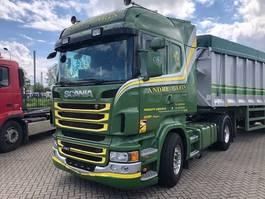 standaard trekker Scania R480 R 480, highline, hydrauliek, retarder 2012