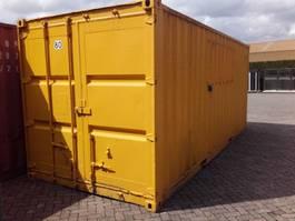 dry standaard zeecontainer 20ft container met stelling en elektra