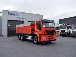kipper vrachtwagen > 7.5 t Iveco Stralis 400 6x2 EURO 6 AJK ACHTEROVER KIPPER (laadvermogen 15015kg) 2015