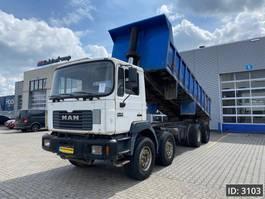 kipper vrachtwagen > 7.5 t MAN 35.403 Day Cab, Euro 1, Full steel - Big Axle - Mech pump - 6 cyl. 1999