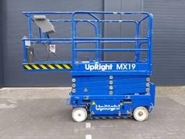 schaarhoogwerker wiel Upright MX19, 2009, 8m workingheight, Good battery! 2009